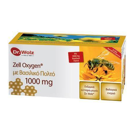 ZELL OXYGEN + GELEE ROYALE 1000mg 14x20ml