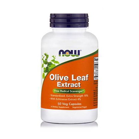 OLIVE LEAF EXTRACT Extra Strength (18% w/ Echinacea 100 mg 4%) - 50 Vcaps®