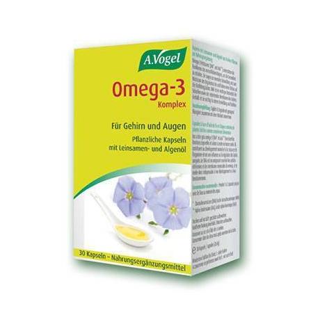 Omega-3 complex 30 caps (Φυτική πηγή Ω3 λιπαρών οξέων)
