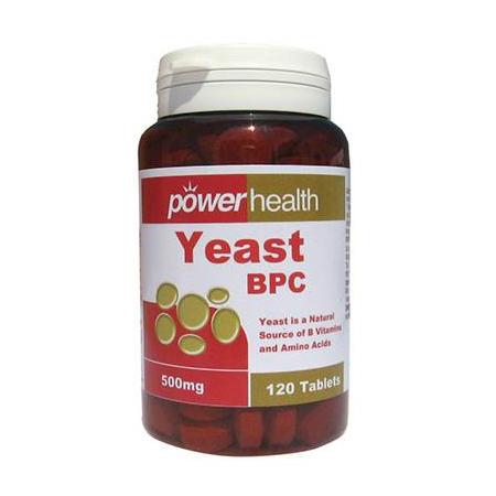Power Yeast tabs 120s