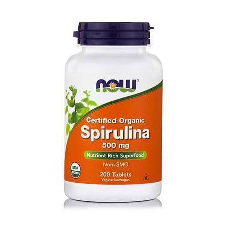 SPIRULINA 500 mg - Vegetarian 200 Tabs