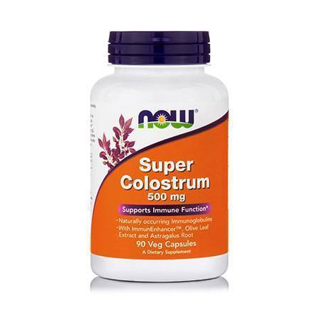 COLOSTRUM SUPER + Olive Leaf 500 mg - 90 Vcaps®