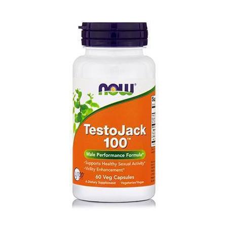 TESTO JACK 100™, 100 mg w/ Standarized Long Jack - 60 Vcaps®