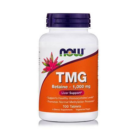 TMG (Trimethylglycine) 1000mg - 100 Tabs