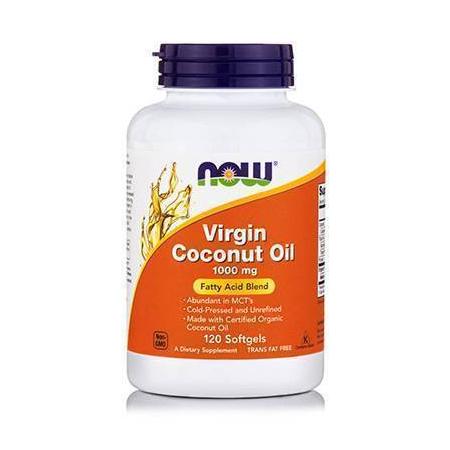 COCONUT OIL VIRGIN, 1000 mg - 120 Softgels