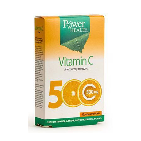 Vitamin C 500 mg cheawable tabs 36s