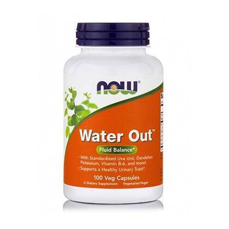 WATER OUT™ Herbal Diuretic (Standarized Uva Ursi, B-6, Dandelion, Bladderwrack, Potassium), 100 Vcaps®
