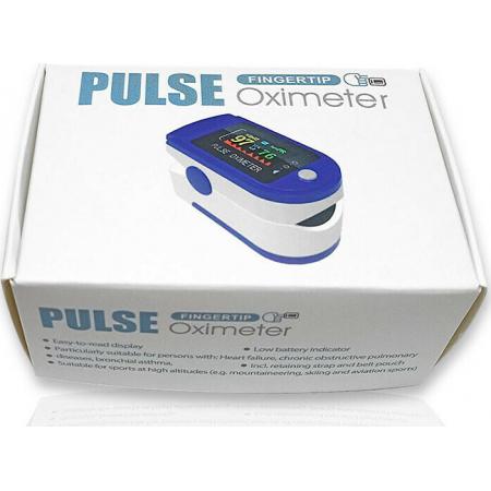 Fingertip Pulse Oximeter Παλμικό Οξύμετρο Δακτύλου με Οθόνη LED